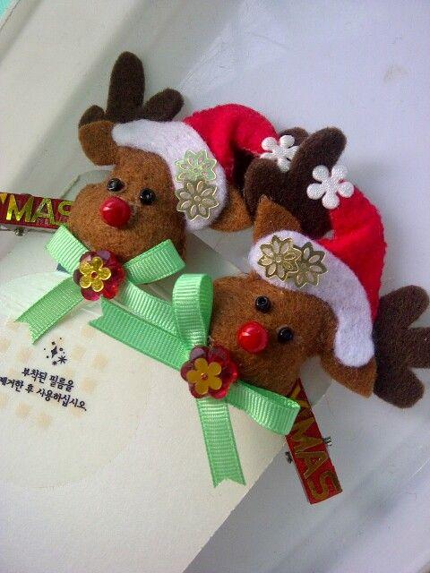 Rudolph hair pin