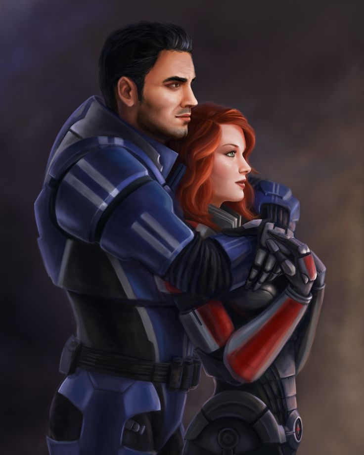 Kaidan Alenko & Gina Shepard I figured it was time for new coverart for my Shenko fic Distance! This was commissioned from the lovely Sathynae :) FFnet:...