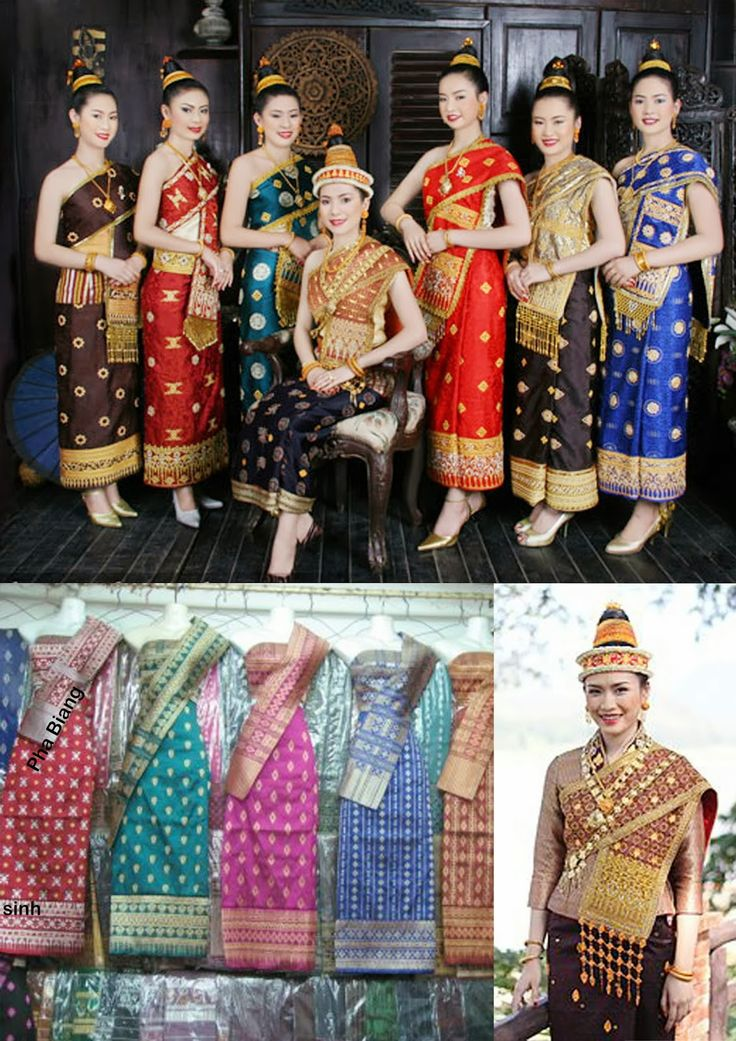 Laotian Traditional Clothing from Laos and Thailand!