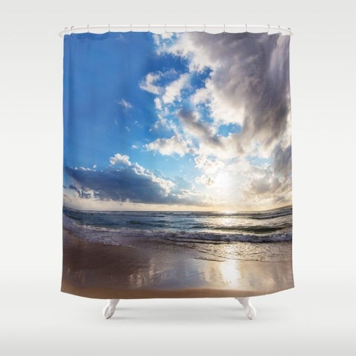 Sunset Photo Shower Curtain Seaview Photo Shower curtain Nature Shower curtain Beach Shower curtain Blue Shower curtain Ocean Shower Curtain by NikaLim on Etsy https://www.etsy.com/listing/290145707/sunset-photo-shower-curtain-seaview