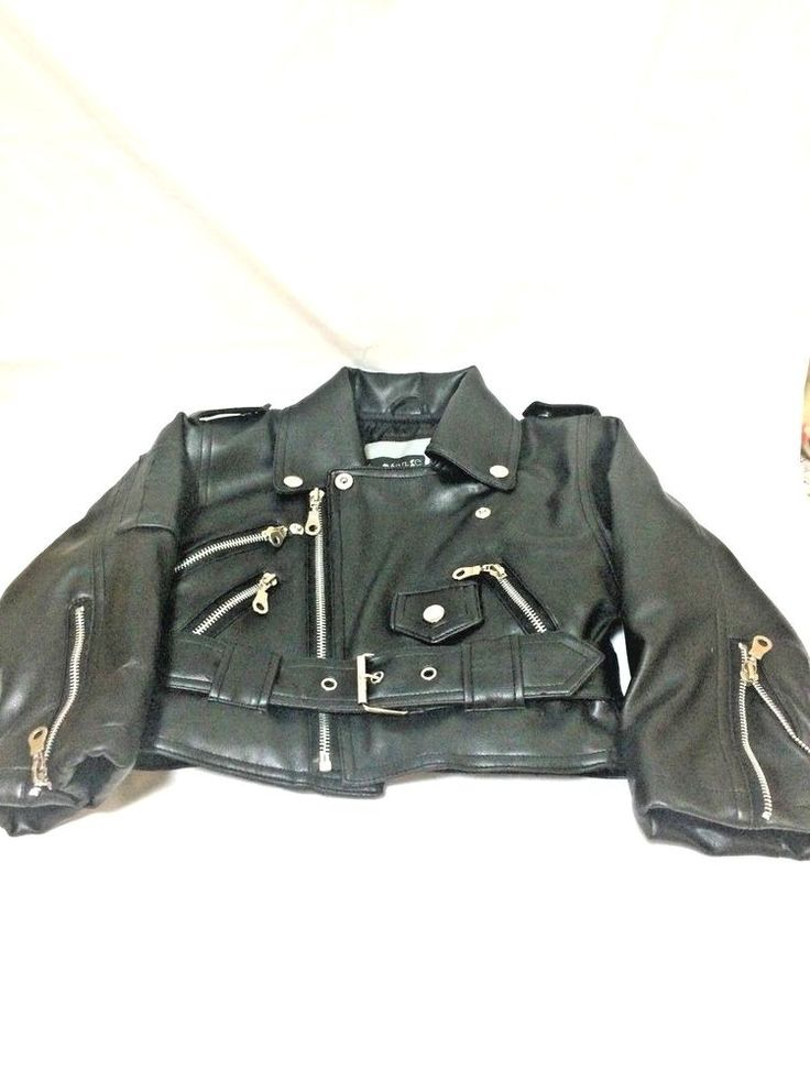 Cute Biker Look, Innosense, Boys Size 2T, Black, Zipper Jacket #Innosense #Jacket #Everyday