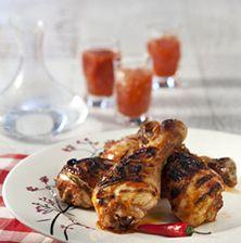 Ίσως μια απ' τις πιο νόστιμες και πικάντικες συνταγές bbq για κοτόπουλο που έχετε δοκιμάσει