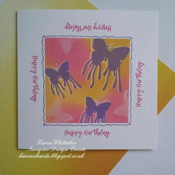 Butterfly Dreams by Imagine Design Create  #imaginedesigncreate #butterflydreams #butterfly #distressoxides #inky #stamps #cardmaking #handmade #craft #creative #ilovetocraft #creativity #karenzkardz
