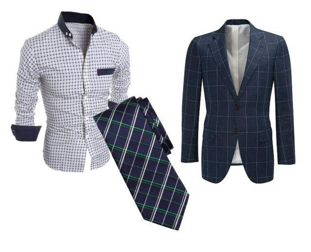 """rutig + rutig"" by jjjjjonsson ❤ liked on Polyvore featuring Brooks Brothers, men's fashion and menswear"