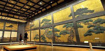 Kano Tanyu (狩野探幽)1602-1674. Nijo castle (nishihonganji ). Kyoto. fusuma picture…