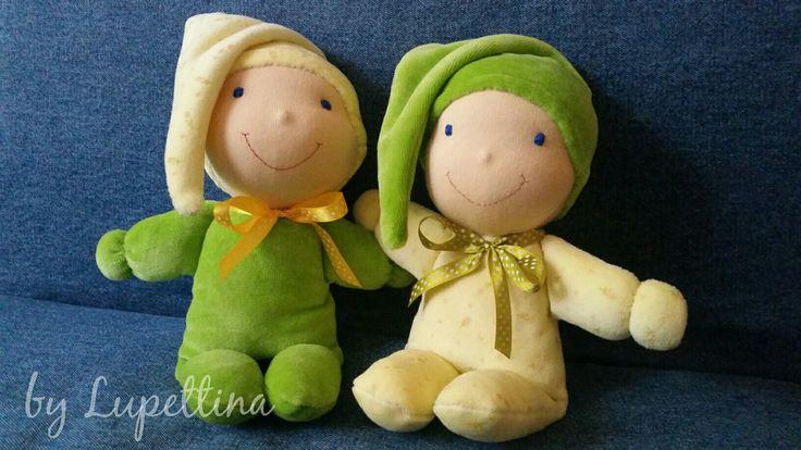 Mini dolls by Lupettina