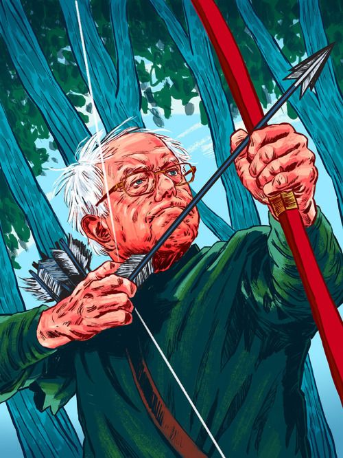 Bernie Sanders' Robin Hood tax bill would levy a small tax on Wall Street financial transactions. (0.5 percent on most stock transactions, and a lesser tax on bond and derivative trades) The tax is estimated to raise about $300 billion per year to fund programs such as free higher education, healthcare for all, and a reversal of climate change.