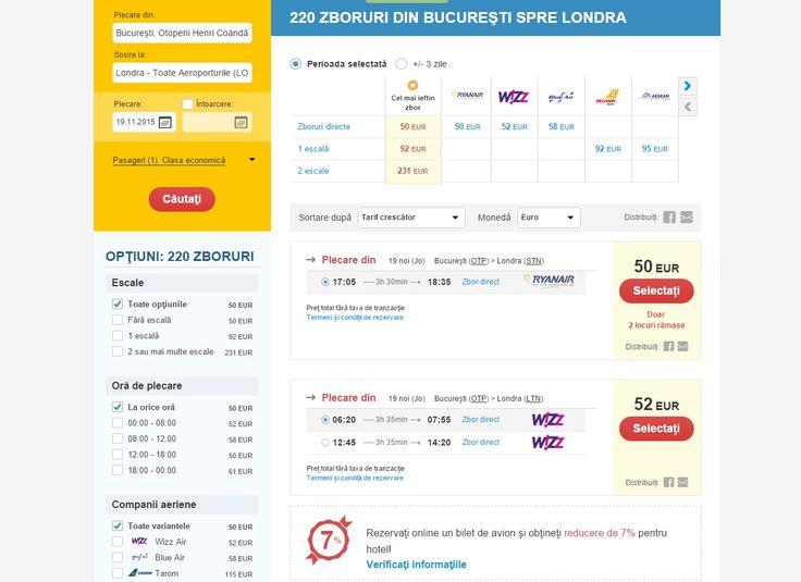 Zboruti de linie Londra-Romania la cea mai buna oferta ->>   www.votp.info/bilete-avion/londra-bucuresti-romania/