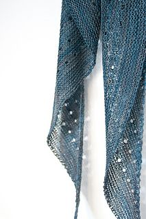 Ravelry: Melodia shawl knitting pattern by Janina Kallio in Malabrigo Sock.