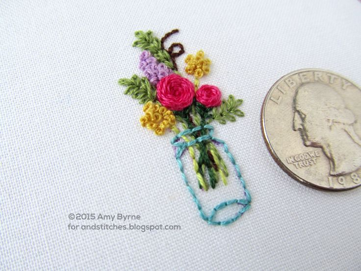 Best hand embroidery flowers ideas on pinterest