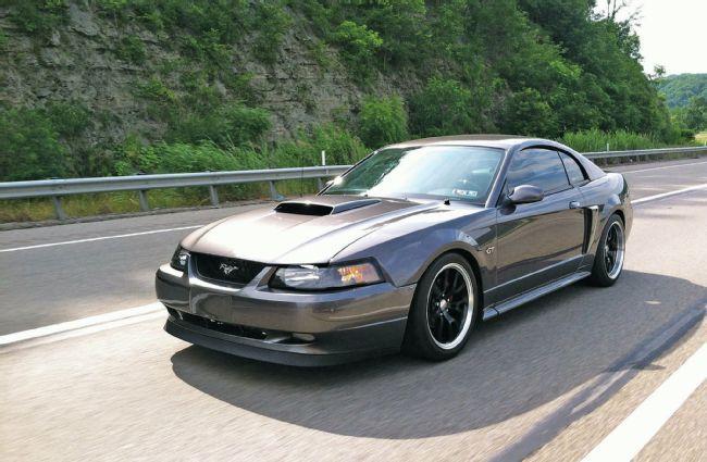 Grey Gelding: Barry Bissiere's 2003 Mustang GT