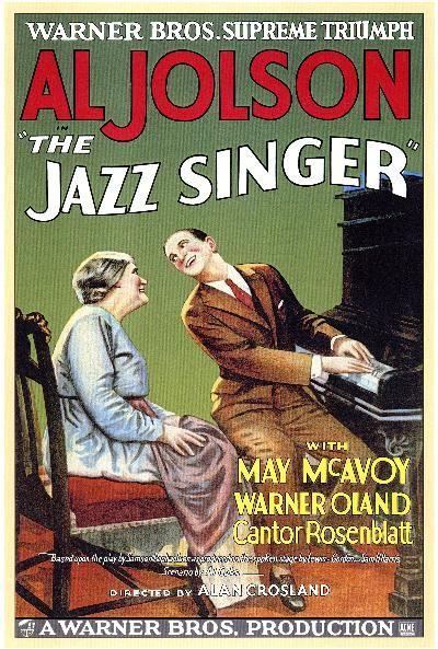Al Jolson, May McAvoy - The Jazz Singer, 1927: Film, 1920 S, Movie Posters, Singers, Movies, Jazz Singer, 1920S