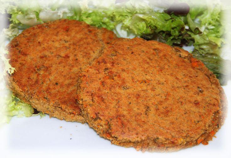 Burger amaranto e lenticchie