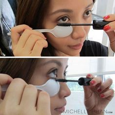 Lower Lash Mascara — How To Apply Tips
