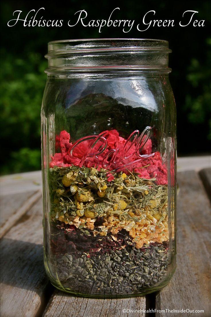 Hibiscus Raspberry Green Tea | Divine Health