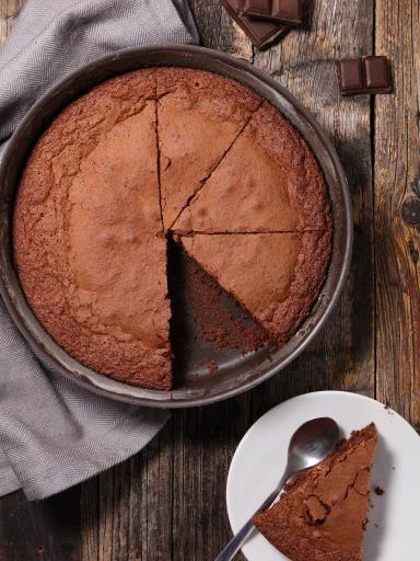 Recette de Gâteau au chocolat fondant rapide