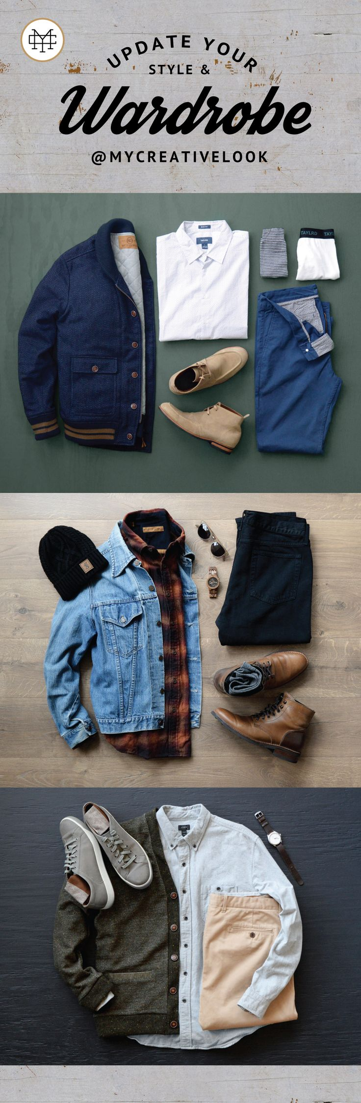 Update Your Style & Wardrobe by checking out Men's collections from MyCreativeLook | Casual Wear | Outfits | Fall Fashion | Boots, Sneakers and more. Visit mycreativelook.com/ #wardrobe #lookbook #mensoutfits #menswear #menscollections