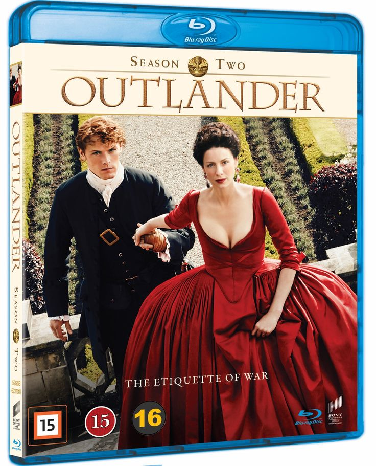 Outlander - Sesong 2 (Blu-ray) (5 disc)