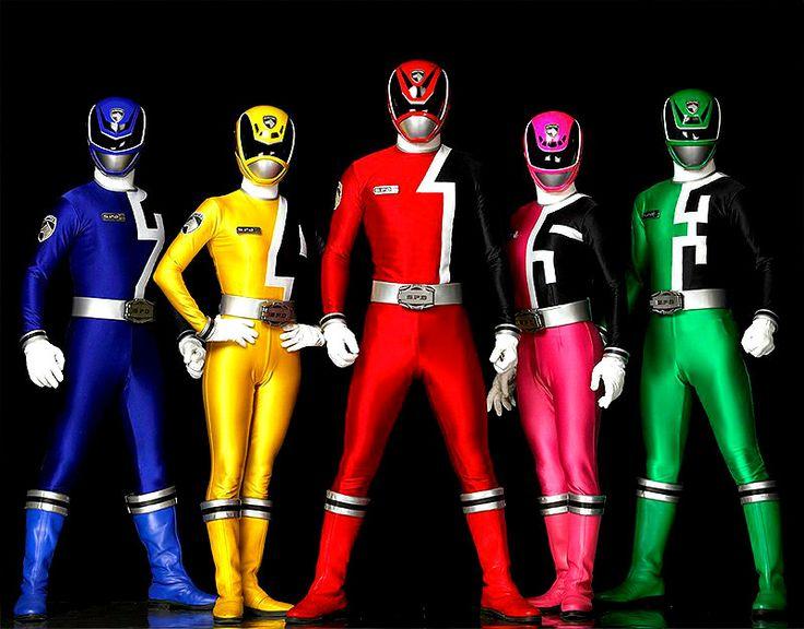 Power Rangers S.P.D.  Rangers Police Up!