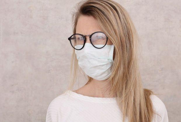 Masken Brille Beschlägt