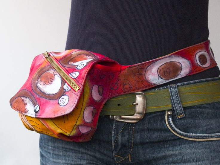 Fashionable Fanny Pack-Hands free Bag or Belt Tote sewing pattern