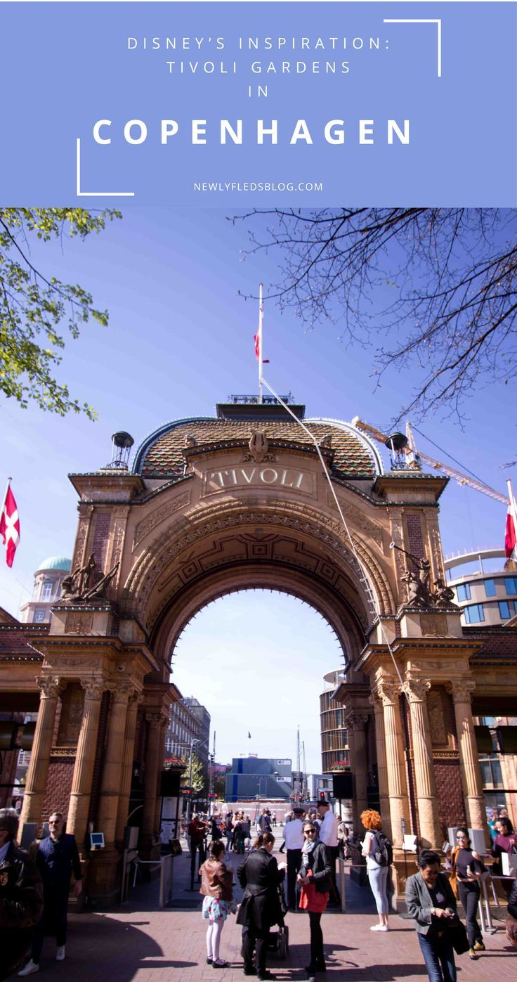 """You cannot leave Copenhagen without seeing Europe's best theme park: Tivoli Gardens. Great for traveling with kids in Copenhagen or even as a historic landmark, make time to """"tour"""" this iconic destination"""