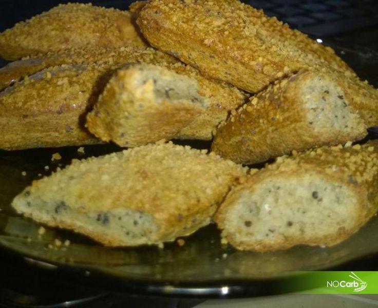 NoCarb Noodle - szénhidrátmentes receptek - Nocarb Parmezános mákos rudacska
