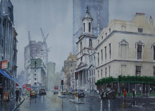Bishopsgate, London. by peter french £185