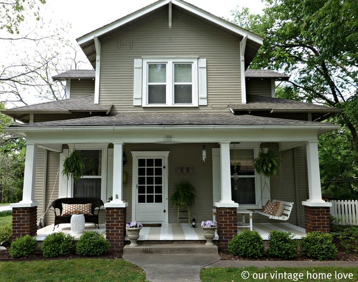 Front Patio Designs | ... Decorated Your Porch Yet For Spring And Summer? Part 48
