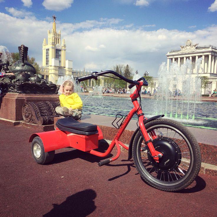 DriveTrike by SupremeMotors.ru Ideal for park rental. #electric #gogreen #tesla