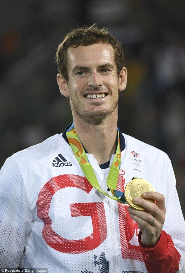 Andy Murray leads the way on the Team GB rich list with a personal fortune of £62million