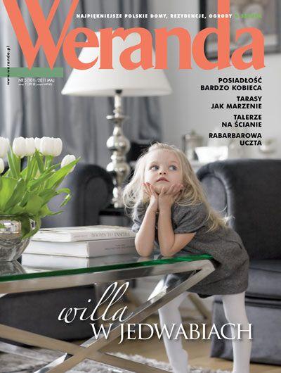 Okładka magazynu Weranda 5/2011 www.weranda.pl