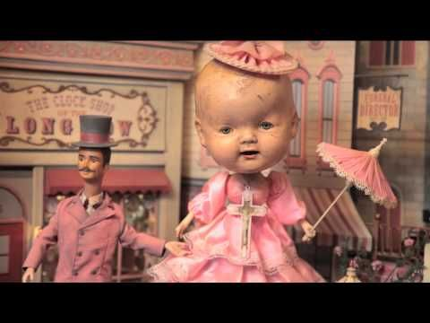"""Memory Lane"" is an automaton diorama by Mark Ryden. Part of the exhibition ""The Gay Nineties West"" at Kohn Gallery, Los Angeles CA. May 3, ..."