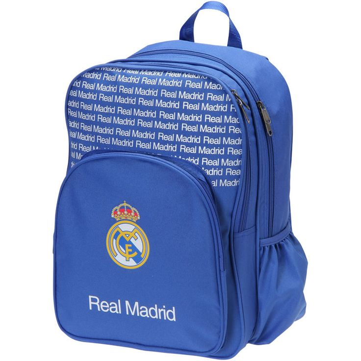 Real Madrid Backpack with Three Compartments