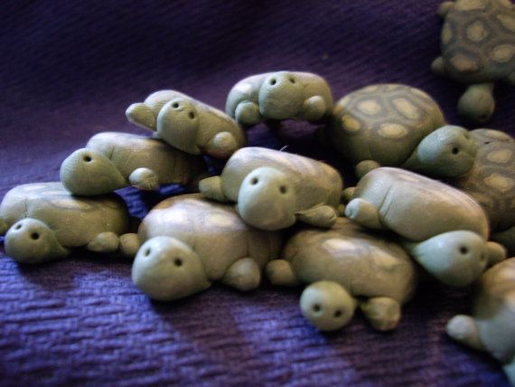 Turtles for fairy garden