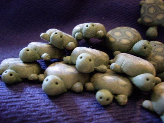 Turtles for fairy garden
