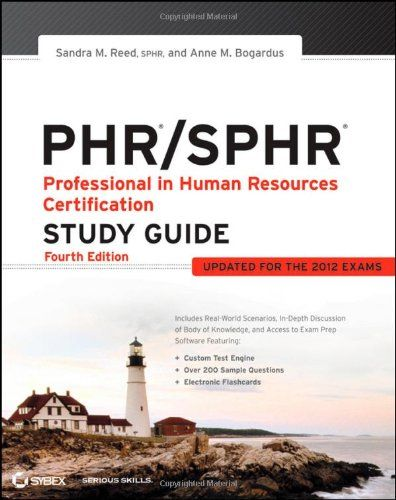 47 best hr images on pinterest human resources productivity and tips phr sphr professional in human resources certification study guidesandra m reed fandeluxe Choice Image