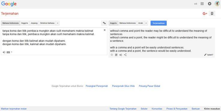 Tips cara menerjemahkan bahasa Indonesia Inggris - English Indonesia | Game dan Tips Internet