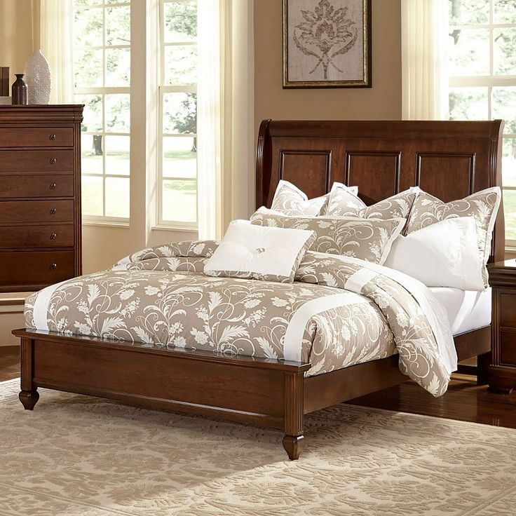 French Market Low Profile Bed (French Cherry) in 2020