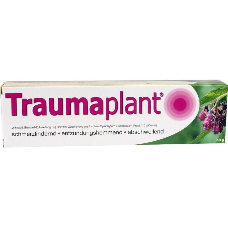 TRAUMAPLANT Creme mit Beinwell: Schmerzlindernd, entzündungshemmend, abschwellend zur Anwendung bei Prellungen und Verstauchungen,…