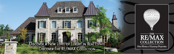 remax website banner with upscale home graphic hosted on