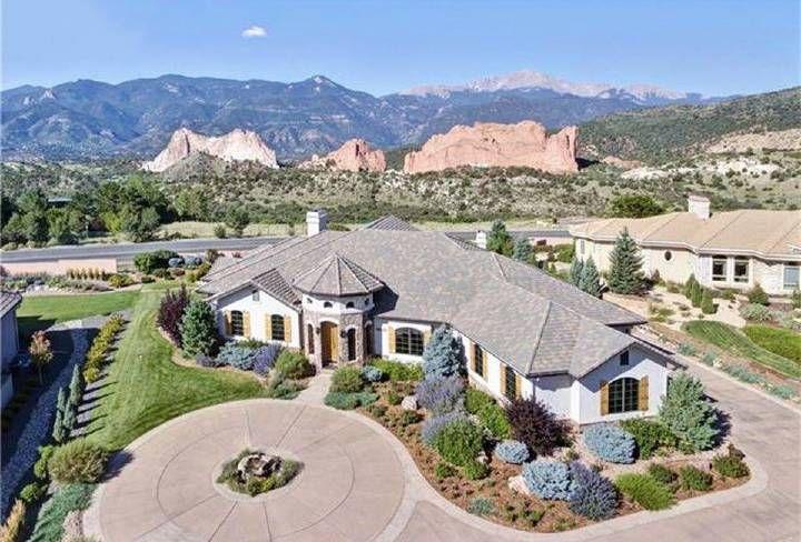 Listing Price: $2,250,000. Location: 3540 Hill Cir, Colorado Springs, CO 80904.  Size: 4 beds, 6 baths, 8,421 sq ft. School District: 11-Colorado Springs