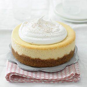 Eggnog Cheesecake: Christmas Cakes, Christmas Recipes, Fall Recipes, Cheese Cak, Cakes Recipes, Eggnog Cheesecake, Holidays, Healthy Desserts, Cheesecake Recipes