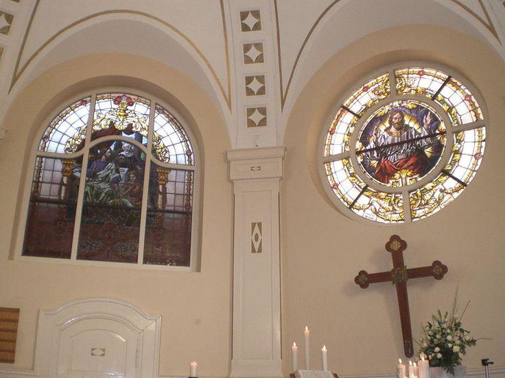 Evangelisch-Lutherische Kirche Swakopmund - Innen - Evangelisch-Lutherische Kirche Swakopmund – Wikipedia