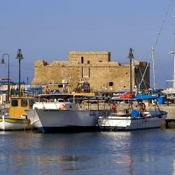 Paphos, or also locally known as Pafos, is situated on the southwest of the island of Cyprus.