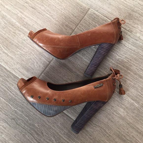 Diesel Heels Diesel heels, size 9, 4.75 inch heel, worn once Diesel Shoes Heels