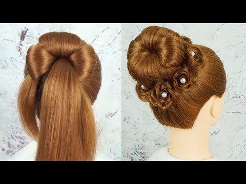 Coiffures Faciles Et Rapides – Coiffures Avec Des Tresses | Chignon Hairstyle St…