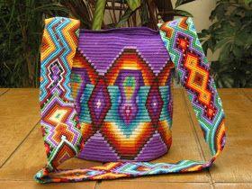 Wayuu Mochila bag Ixchel: Equilibrio