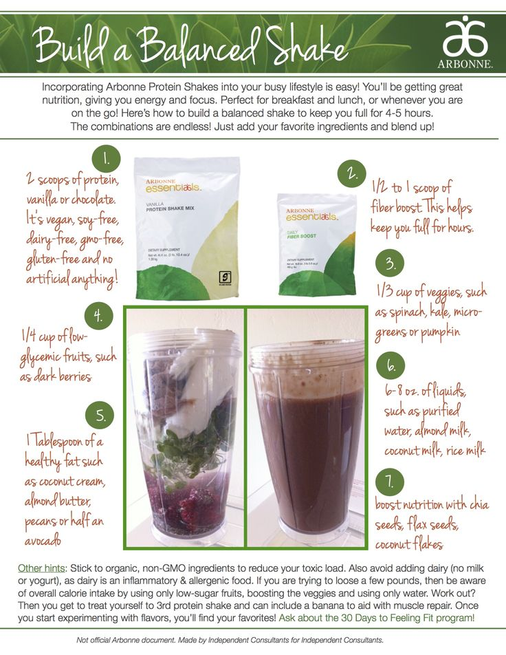 How to build a balanced protein smoothie shake. You don't wanna spike your insulin or get your hormones out of whack. #arbonnecleanse http://jessf.myarbonne.com                                                                                                                                                     More