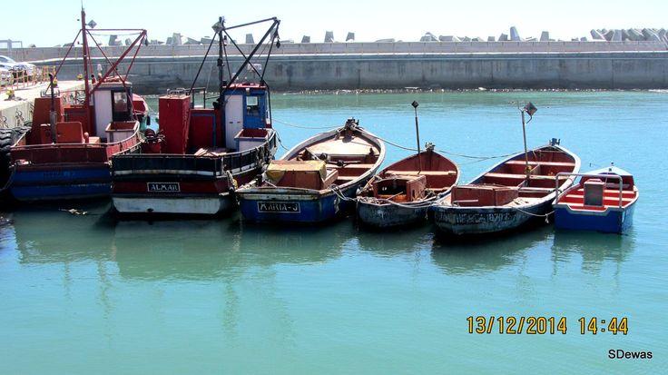 Lamberts Bay Fishing Harbour   Dec 2014